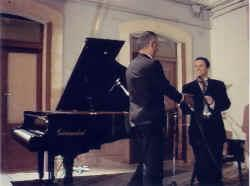 Piotr Lachert e Vincenzo Silvestris